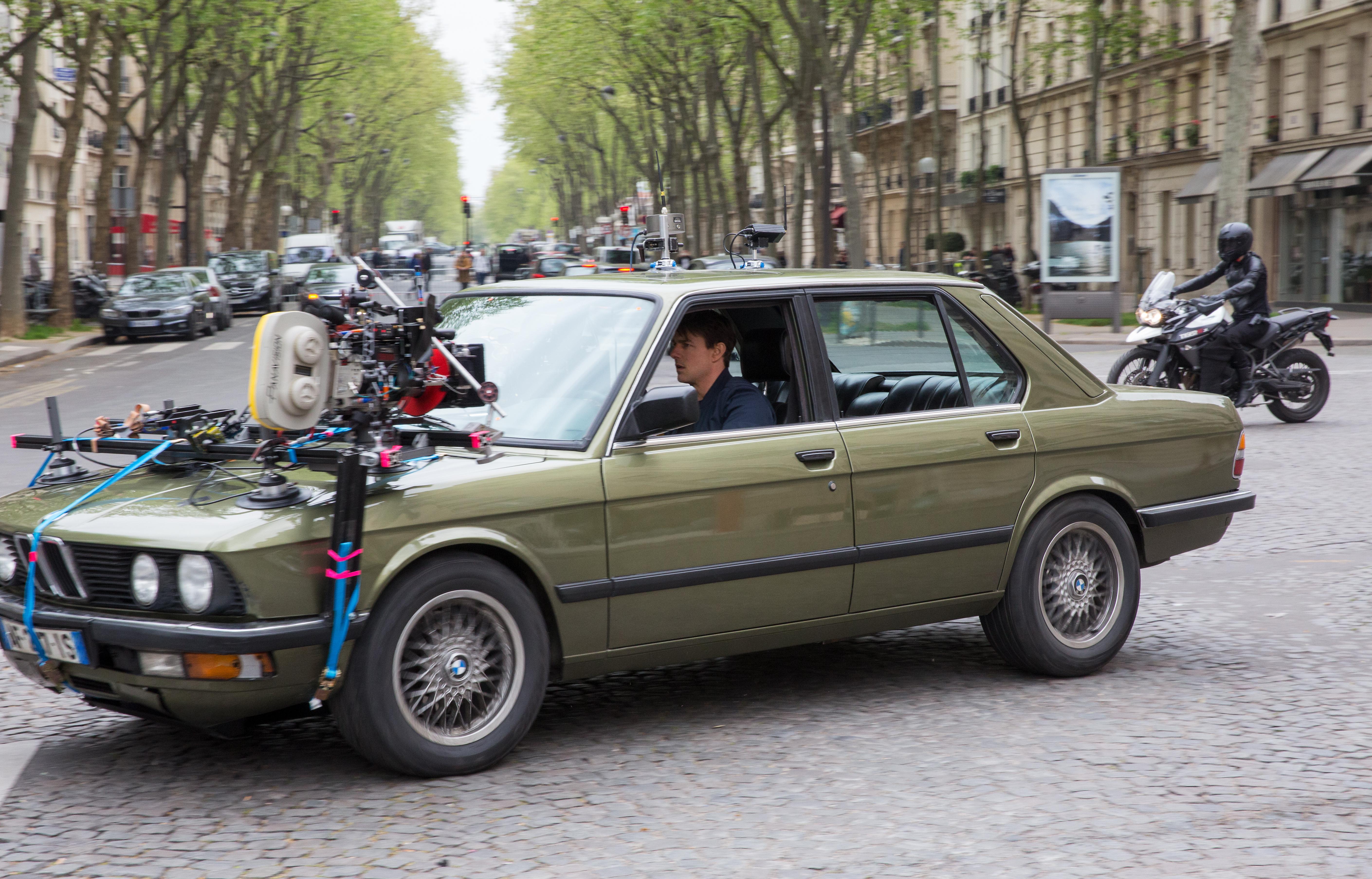 """BMW M5 2019 estrela novo """"Missão Impossível - Efeito Fallout"""" [Divulgação l BMW Group]"""