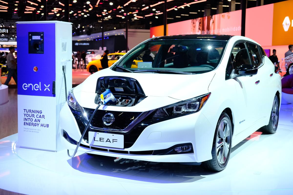 0d733ba82 Novo Nissan Leaf  Foto l Nissan  A segunda geração ...